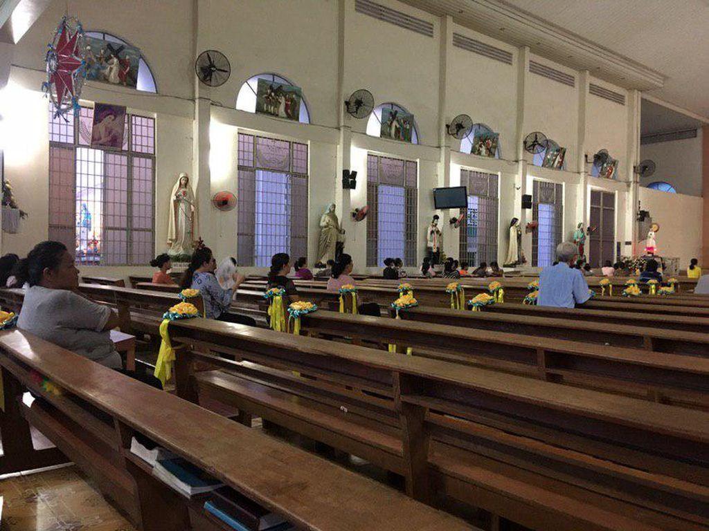 Пасхальная служба в католическом Храме